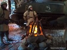 1/16 scale Diorama !! Camp Fires !! WW2, Civil War, Revolutionary War