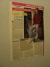 A091 LOUIS VELLE  '1996 FRENCH CLIPPING