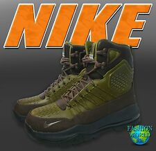 NIKE MEN'S SIZE 9 ZOOM SUPERDOME ACG BOOT Baroque Brown/Olive Flak 654886