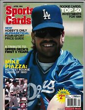 April 1994 Sports Cards Magazine Mike Piazza On Cover