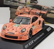 Porsche 911 GT3 RSR 24h Le Mans 2018 Winner Pink Pig 1:43 Spark Limited NEW