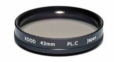Circular polarizing Filter 43mm made in Japan