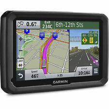 "Garmin Dezl 7"" Glass Display Advanced GPS for Trucks w/ US Lifetime Map Updates"