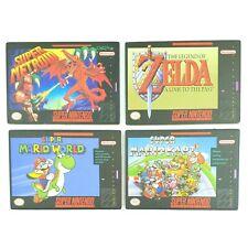 Lot de 4 Coasters / Dessous de verre - SNES - Officiels Nintendo