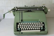 Vintage Olympia Manual Typewriter Made in Germany Green