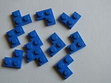 Lego 8 coins bleus set 7738 6454 1186 9499 / 8 blue corner plate