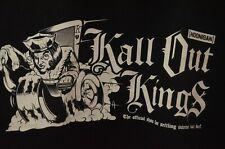 Hoonigan Kall Out Kings Pullover Hoodie Sweatshirt Size XL