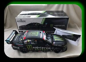 Authentic 1:12 Ford FGX Falcon Monster Energy 2017 Sandown Waters Stanaway