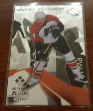 2003-04 Black Diamond Triple Diamond Justin Williams Card 128