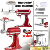 Meat Grinder Sausage Stuffer Tomato Juicer Attachment For KitchenAid Stand Mixer