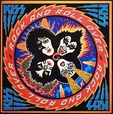 KISS ROCK AND ROLL OVER ALBUM COVER POSTER 24 X 24 Inches