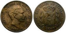 ALFONSO XII. 10 CENTIMOS. 1879. BARCELONA. BUEN PRECIO.