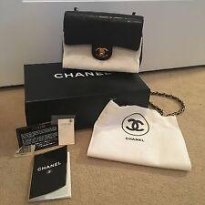 100 % Authentic Vintage Mini Chanel Cross Body Flap Bag