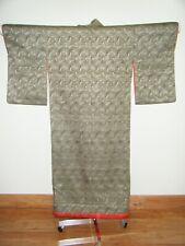 Antique Japanese Meiji Uchikake Wedding Kimono w/ Bamboo