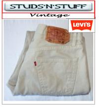 "VINTAGE LEVIS 501'S STRAIGHT FIT JEANS  W38"" L32"" APROX SIZE UK  18 (T403)"