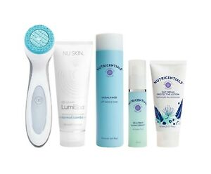 NuSkin LumiSpa Set Normal/Combination Skin including 4 FREE products and more