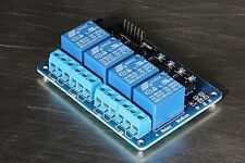 4-Channel 5V Relay Module Optocoupler for Arduino MCU USA seller