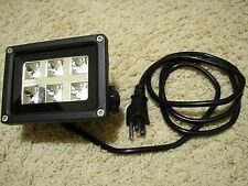6w UV LED Outdoor Black Light flood light Halloween landscape garden spotlight
