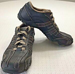 Skechers Diameter Vassell Casual Shoes Sneakers 62607 Brown Mens Size 7.5