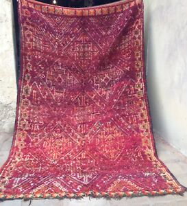Vintage Moroccan Beni Mguild  Zayane Rug  360 X 215cm