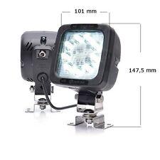 LED Arbeitsscheinwerfer + Rücklicht Zusatzlicht mit Schalter 12/24V Lkw Bus #686