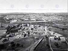 Città di Gerusalemme Palestina 1900 VINTAGE OLD BW FOTO STAMPA POSTER 1107bwb