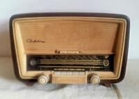 NORDMENDE ELEKTRA 59 - RADIO D'EPOCA REVISIONATA/FUNZIONANTE GERMANIA ANNO 1959