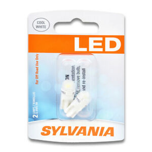 Sylvania SYLED License Light Bulb for Nissan Murano Quest Xterra Armada hf