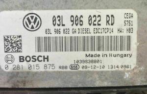 Plug & Play Bosch  ECU  0281015875  0 281 015 875  03L906022RD  03L 906 022 RD