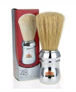 Omega 10048 Chrome Boar Bristle Shaving Brush Italy Man Gift Holidays