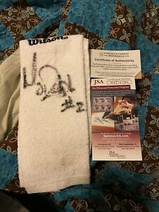 Pittsburgh Steelers Game Used Towel Signed By Mason Rudolph READ DESCRIPTION!