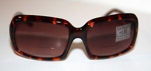 ROCCO Designer Gloss TORTIE Sunglasses +1.0/+1.5/+2.0/+2.5/+3.0 Reader/Bifocals