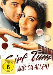 SIRF TUM  / NUR DU ALLEIN - Bollywood DVD  Sushmita Sen Erscheint  22. 10.