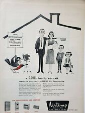 Vintage Airtemp Air Conditioning Print Ads Ephemera Art Decor