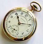 Illinois Burlington Railroad Pocket Watch 16 size 21 jewels Gold filled RUNS