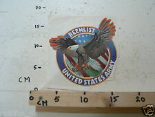 STICKER,DECAL REENLIST UNITED STATES ARMY EAGLE 15 CM LARGE