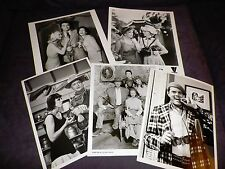 The Beverly Hillbillies TV original photo Lot 5 CBS-TV Buddy Ebsen Nancy Kulp