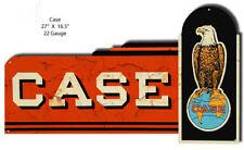 CASE Motor Oil Laser Cut Out Garage Art Metal Sign 16.5x27  RVG316S
