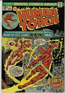 THE HUMAN TORCH # 1 MARVEL 1974 GOLDEN AGE AND SILVER AGE TORCH