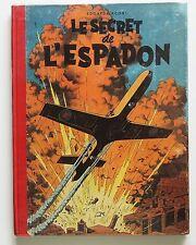 JACOBS. Le Secret de l'Espadon Tome 1. Lombard 1950. EO en superbe état