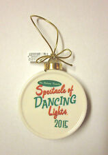 Disney Osborne Spectacle of Dancing Lights Christmas Ornament 2015 - SOLD OUT