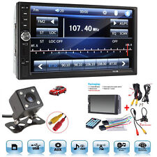 "7""Touch Screen Bluetooth Radio Audio Stereo Car Video Player&HD Camera Hot Sale"