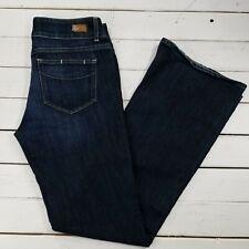 PAIGE Hidden Hills Jeans Womens 30x33 Dark Wash Mid Rise Boot Cut J1611