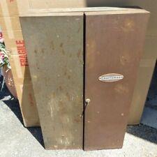 VTG RARE CRAFTSMAN WALL MOUNTED HANGING STEEL TOOL ORGANIZER CABINET STORAGE BOX