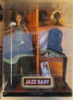 Jazz Baby Barbie AA Rare African American Gold Label L7261 Pivotal Body +Shipper