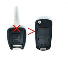 for VAUXHALL ASTRA G conversion upgrade remote flip key FOB kit