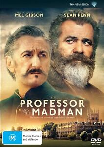 The Professor and the Madman DVD Region 4 NEW