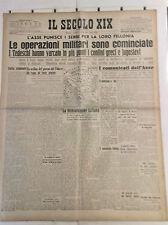 WW2@INCOMINCIATE OPERAZIONI MILITARI IN GRECIA E JUGOSLAVIA