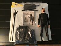 Marx Toys Noble Knights 2001 Reissue Sir Cedric The Black Knight Action Figure