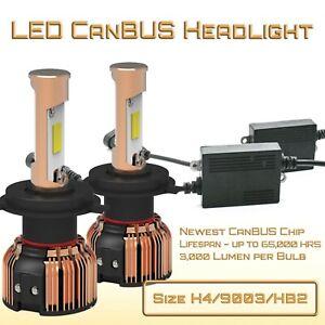 New Gen CanBUS LED Headlight Kit- H4/9003/HB2 - Dual Beam LED Kit